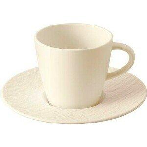 Kaffeetasse m.U. 2tlg. Manufacture Rock blanc Villeroy & Boch