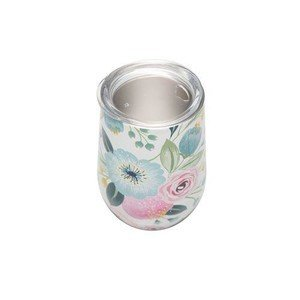 To Go Becher 420ml bioloco office pastel flowers chic mic