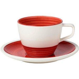 Kaffeetasse mit Untertasse 2tl Manufacture rouge Villeroy & Boch