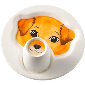 Teller mit Becher Hund Animal Friends Villeroy & Boch