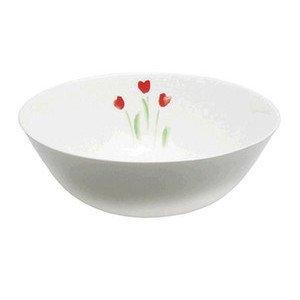 """Schüssel 21 cm """"Impression Blume Rot"""" rund Dibbern"""