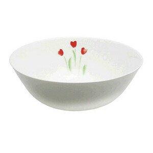Schüssel 21 cm Impression Blume Rot rund Dibbern