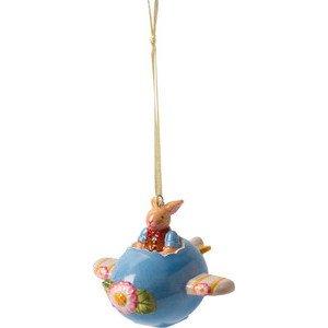 Ornament Ei-Flugzeug 8x9x7 cm Bunny Family Villeroy & Boch