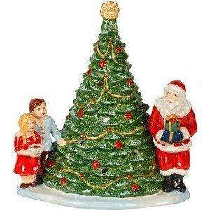 Windlicht Santa am Baum Christmas Toys Villeroy & Boch