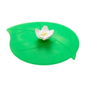 Sommerdeckel Apfelblüte Silikon grün Blattform Lurch