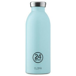 Thermo Trinkflasche 0,5 l Clima Bottle cloud blue 24bottles
