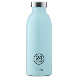 Thermo Trinkflasche 0,5 l cloud blue 24bottles