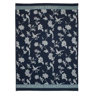 Geschirrtuch 50x70cm Midnight Flowers Laura Ashley