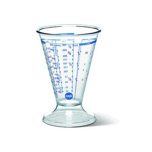 Messbecher Superline transparent konisch 0,5 ltr. Emsa