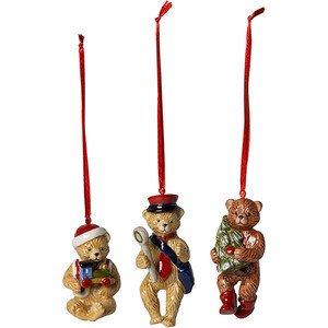 Teddy 9,5cm Set 3tlg. Nostalgic Ornaments Villeroy & Boch