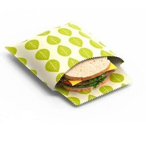 Vegane Wachsbeutel 2er-Set Blattdekor Nuts Innovations AG