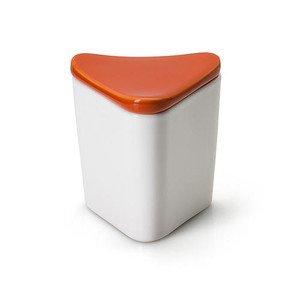 Vorratsdose orange dreieckig 8,5 cm Keramik Continenta