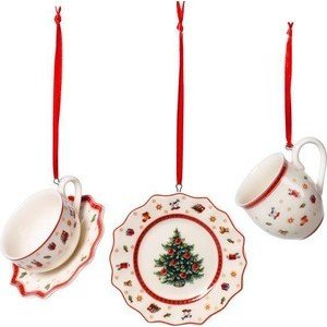 Ornamente Geschirrset 3tlg. Toys Delight Decoration Villeroy & Boch