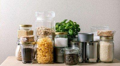 Mit Vorratsdosen Lebensmittel richtig lagern