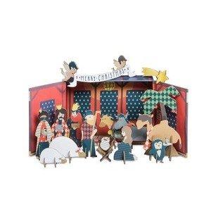 Xmas Story in a Box Weihnachtskrippe Donkey