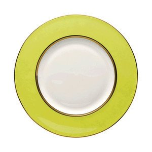"Frühstücksteller 23 cm ""Brillance Accent Lime"" Rosenthal"