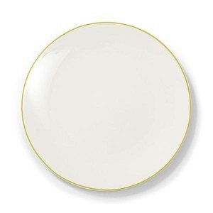 Teller flach 32 cm Simplicity limone Dibbern