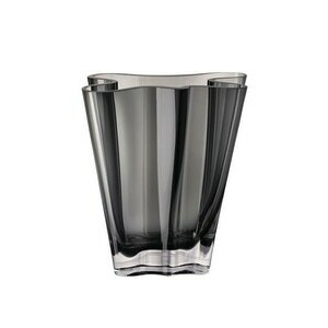 Vase 26 cm Flux grau Rosenthal