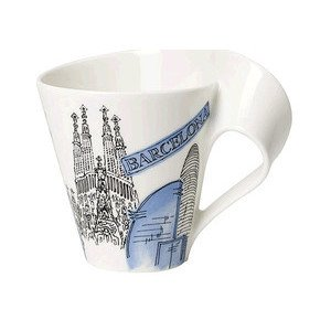 Becher m. Henkel 0,3 l Barcelo Cities of the World Mug Villeroy & Boch
