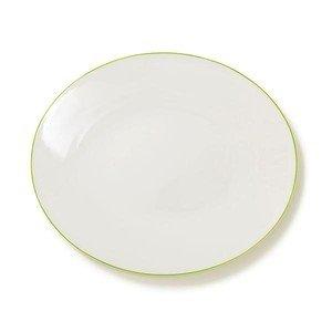 Platte oval 39 cm Simplicity limone Dibbern