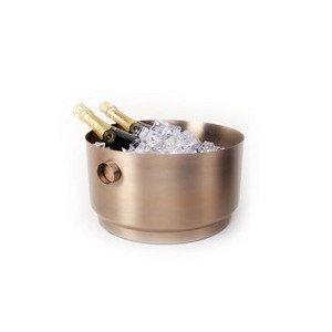 Party Bucket Rondo Edelstahl Soft Copper XLBoom