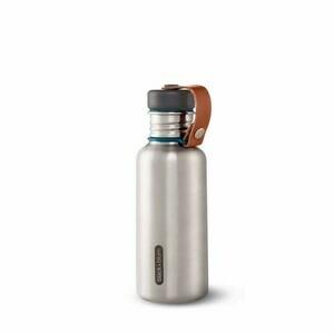 Wasserflasche 500ml Ozean Edelstahl Black+Blum