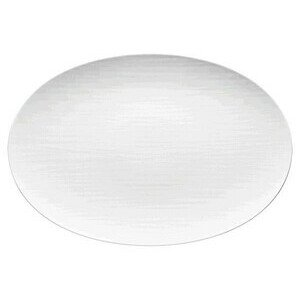 Platte 42 cm Mesh weiss oval Rosenthal