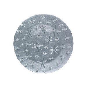 Platzteller 32 cm silber Stars Nachtmann