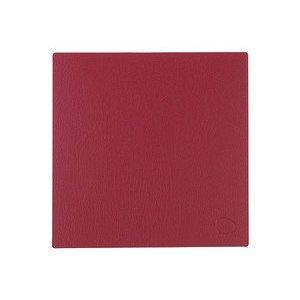 28x28 cm Tischset square S red/Bull LINDDNA