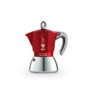 Espressokocher 6 Tassen New Moka rot Bialetti