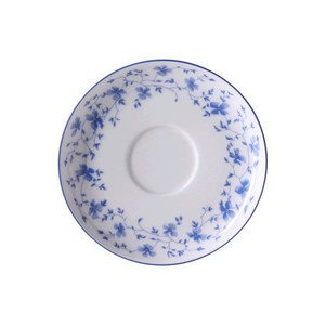"""Kaffee-Untertasse 14 cm """"Form 1382 Blaublüten"""" Arzberg"""