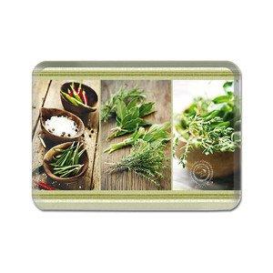 Tablett 21 x 15 cm Kitchen Herbs Opus 4