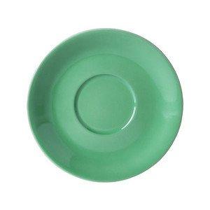"Jumbo-Untertasse 600 ml ""Solid Color Apfelgrün"" rund Dibbern"