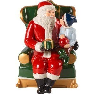 Santa auf Sessel Christmas Toys Villeroy & Boch