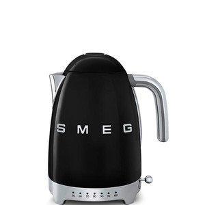Wasserkocher 1,7 l 2400 Watt mit Temperaturanzeige schwarz smeg
