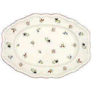 "Platte 37 cm oval ""Petite Fleur"" Villeroy & Boch"