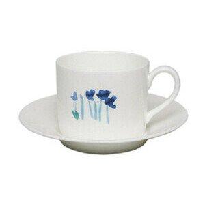 Kaffeeobertasse 0,25l zyl. Impression Blume blau Dibbern
