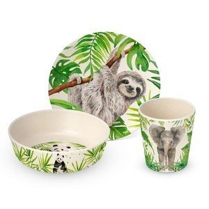 Kinder Set Bamboo Tropical PPD