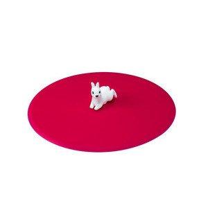 Sommerdeckel Hase Silikon pink rund Lurch