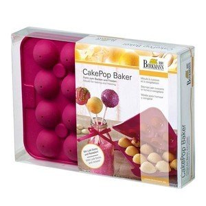 Backform CakePop Baker 20-fach Silikon RBV Birkmann