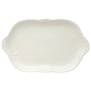 """Platte 39,0 cm x 24,5 cm oval """"Sanssouci Elfenbein"""" Rosenthal"""