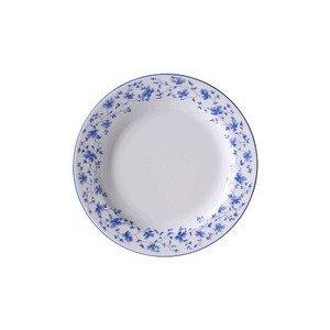 """Frühstücksteller 19 cm rund """"Form 1382 Blaublüten"""" Arzberg"""