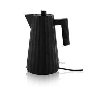 Wasserkocher elektrisch schwarz Alessi
