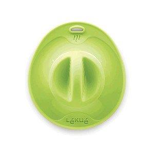 Verschlussdeckel 21 cm grün Lekue