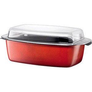 Schlemmerkasserolle 5,3 l Energy Red Silit