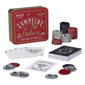 Poker-Set Campfire Texas Hold'em Gentlemen's Hardware