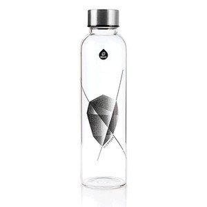 Glasflasche Mismatch Black 550ml Equa