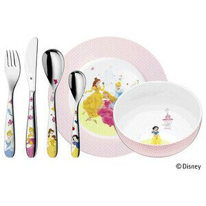 Kinderbesteck Set 6 tlg. Disney Princess WMF