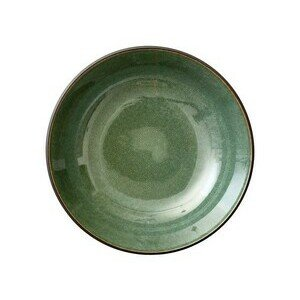 Salatschale 24 cm schwarz, grün Bitz