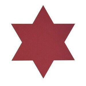 Untersetzer Stern Star Nupo Red LINDDNA